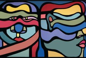Le muraliste chilien «Mono» González<br> à Paris!