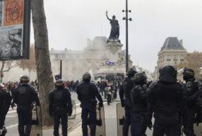 Primer día de huelga general en Francia